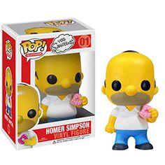 Homer Simpson Pop Vinyl Figure Funko Toy New 3 The Simpsons Television Funk Pop, Disney Pop, Funko Pop Dolls, Funko Toys, Pop Figurine, Figurines Funko Pop, Funko Figures, Pop Funko Rare, Pixar