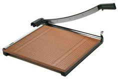 Be sure to include a paper cutter with a safety latch so teachers can save paper and make half size exit-tickets and more!