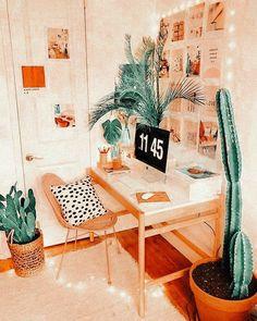 Cute Bedroom Decor, Room Ideas Bedroom, Bedroom Inspo, Study Room Decor, Teen Room Decor, Chambre Indie, Decorating Bookshelves, Cute Room Ideas, Aesthetic Room Decor
