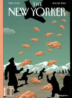The New Yorker, November 2001 Illustration: Art Spiegelman Art director: Francoise Mouly The New Yorker, New Yorker Covers, Magazine Illustration, Illustration Art, Laurent Durieux, Magazine Art, Magazine Covers, Art Spiegelman, Bd Art