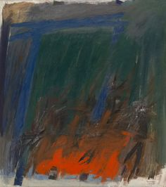 Jack Tworkov, Red Lode, 1959–60. Oil on canvas, 67 7/8 x 61 1/16 inches (172.2 x 155.1 cm)