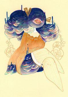 #cyclops #monster #monstergirl #illustration