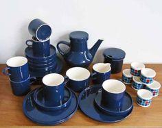 Melitta-Stockholm-Blau-Kaffeeservice-6-Pers-Eierbecher