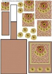 Floral Spice Schildersezel Card 2