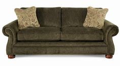 """Pembroke La-Z-Boy® Premier Sofa by La-Z-Boy  Sku: 610499   Width (side to side) 90.5"""" W   Height (bottom to top) 37"""" H   Depth (front to back) 40"""" D   Seat Depth 21.5""""   Seat Height 21"""""""