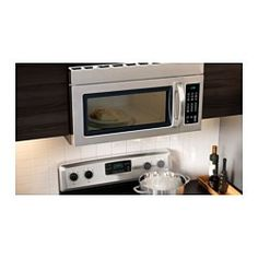IKEA - BETRODD, Microwave oven with extractor fan, 5-year Limited ...