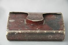 Antique Holy Bible Red Leather Bound 1806 New Old Testament Some Damage 200 +yrs