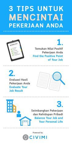 Tips to Love Your Job (Tips Untuk Mencintai Pekerjaan Anda) (Infographic) Study Motivation Quotes, Work Motivation, Work Quotes, Life Quotes, Qoutes, Reminder Quotes, Self Reminder, Home Safety Tips, Best Motivational Videos