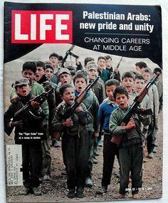 Palestinian Arabs Pride Unity Palestine Tiger Cubs 1970 June 12 Life Magazine