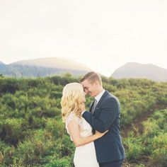 """These stunning """"day after"""" Maui wedding photos in the Hawaiian hills are dreamy and make us want to run away to the tropics with our S.O.!"""