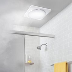 Ventair Airbus Square With Led Light 250 Ceiling Exhaust Fan Silver Projects In 2019