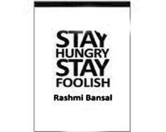 """Best selling Bansal """"Stay Hungry Stay Foolish"""" Available at Books To Read, My Books, How To Influence People, Secret To Success, Public Speaking, Guys Be Like, Emotional Intelligence, Love And Marriage, So Little Time"""