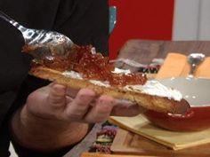 Mermelada de cebollas y vino tinto. ¡Riquísima e ideal para degustarla a cualquier hora del día!