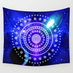 Buy Electric blue universe Wall Tapestry by haroulita. Worldwide shipping available at Society6.com. Just one of millions of high quality products available.