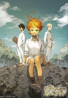 75 Best The Promised Neverland Images In 2018 Finding Neverland
