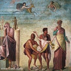 ancient frescos pompeii - Google Search