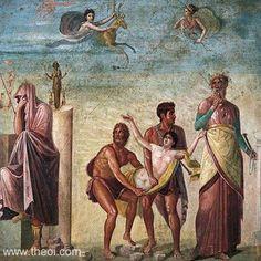 ancient frescos pompeii - Google Search