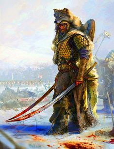 Party of 2 m Fighter m Paladin Plate Armor Swords hilltop Ruins wilderness forest story 'Getae' Dacians warriors Fantasy Character Design, Character Inspiration, Character Art, Fantasy Warrior, Fantasy Art, Wolf Warriors, Celtic Warriors, Viking Character, Arte Hip Hop