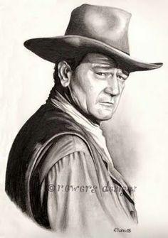 John Wayne - Lastest commission work – r.ewers designs