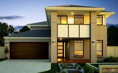 Builders of single and double storey homes, town houses and medium density housing in Victoria, South Australia, New South Wales and Queensland. 2 Storey House, Storey Homes, Home Design Plans, Plan Design, Simonds Homes, Double Story House, Bedroom With Ensuite, Master Bedroom, Display Homes