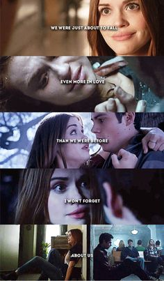 """Please don't forget us."" #Stydia #TeenWolf"