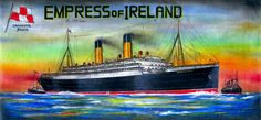 R.M.S. Empress of Ireland by Scottvisnjic.deviantart.com