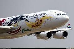 "South African Airways Airbus (registered ZS-SXD) in the ""London livery making a flypast at Waterkloof Airplane Art, Airplane Window, South African Air Force, Commercial Plane, Airplane Photography, Aircraft Painting, Airline Travel, Civil Aviation, Nose Art"