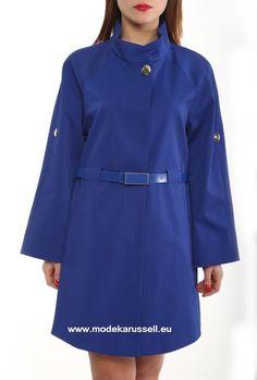 Trench Coat Helmtrud Blau