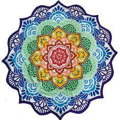 Chakra Mandala Multi-Purpose Blanket — A Natural Magick Yoga Meditation, Meditation Space, Yoga Studio Design, Mandala Drawing, Mandala Art, Mandala Yoga, Mandala Design, Third Eye, Kids Yoga Poses