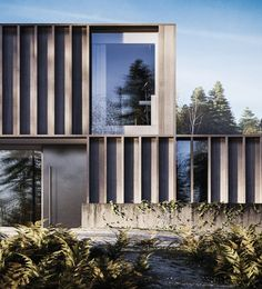 Architecture Inspiration // Carey House by Henry Goss Architecture Design, Architecture Visualization, Residential Architecture, Contemporary Architecture, Contemporary Design, Modern Architecture House, Gothic Architecture, Landscape Architecture, Design Exterior