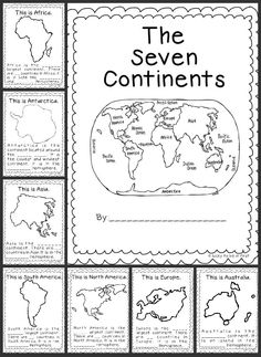 This is a great resource to use when teaching the seven continents to grade. The link will provide you with a ton of templates, activity ideas, and art projects to get your students engaged in social studies geography. 3rd Grade Social Studies, Social Studies Activities, Teaching Social Studies, Kindergarten Social Studies, Teaching Tools, Social Studies Classroom, Elementary Social Studies, Social Studies For Kids, Social Studies Worksheets