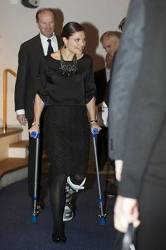 Crown Princess Victoria presented the Tobias Prize at the Royal Swedish Academy of Sciences.