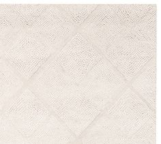 Possible guest bedroom rug- Mae Diamond Tufted Rug | Pottery Barn