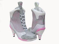 Jordan Shoes, Jordan 23, Nike Heels, Shoes Heels, Pumps, Fly Shoes, Sneaker Heels, Pink Shoes, Nike Free