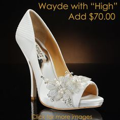 Badgley Mischka by My Glass Slipper - Wayde-PK - Shoes Badgley Mischka Shoes Wedding, Wedding Heels, Wedding Attire, Cute Shoes, Me Too Shoes, Designer Wedding Shoes, Shower Dresses, Cute Wedding Ideas, Wedding Inspiration