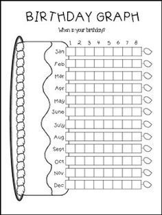 "FREE MATH LESSON - ""FREE Birthday Bar Graph"" - Go to The Best of Teacher Entrepreneurs for this and hundreds of free lessons. Kindergarten - 4th Grade #FreeLesson #Math #BacktoSchool http://www.thebestofteacherentrepreneurs.net/2016/08/free-math-lesson-free-birthday-bar-graph.html"