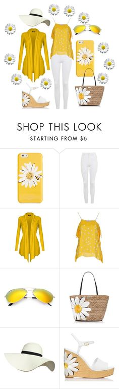 """""""Daisy"""" by lita-life ❤ liked on Polyvore featuring Kate Spade, Topshop, Princesse Metropolitaine and Pilot"""