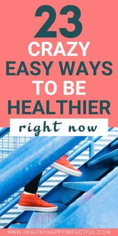 23 Easy Ways to Be Healthier in 2020 (+ 3 Day Challenge) 23 Easy Ways to be Healthier this year! Healthy living tips and ideas for your health, nutrition, a Wellness Tips, Health And Wellness, Health Tips, Women's Health, Mental Health, Healthy Living Tips, Healthy Habits, Healthy Choices, Fitness Gym
