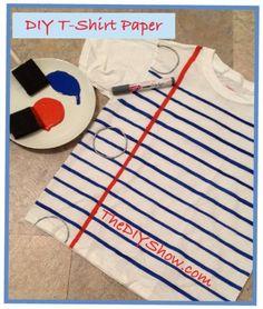 DIY T-shirt Paper