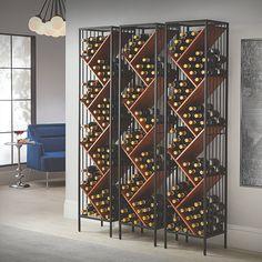 Wood Wine Racks, Wine Rack Wall, Wine Wall, Tall Wine Rack, Wine Cellar Racks, Built In Wine Rack, Wine Rack Design, Wine Cellar Design, Wine Cellar Modern
