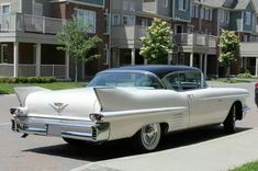 1958 Cadillac DeVille Coupe Cadillac Ct6, Us Cars, Chevy, Garage, Passion, Future, American, Autos, Cutaway