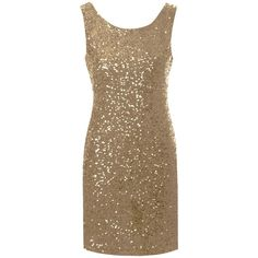 True Decadence Sequin Bodycon Dress , Gold ($31) ❤ liked on Polyvore featuring dresses, vestidos, robes, short dresses, gold, gold cocktail dress, maxi dress, short sleeve cocktail dress, bodycon maxi dress and bodycon midi dress