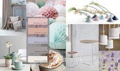 Rustig kleurenpalet met mooie pastel kleuren voor je interieur. trend kleuren, kleurenwaaier; makeithome.nl
