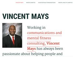 Vincent Mays is raising awareness about charities and nonprofit organizations helping individuals around the world gain access to essential resources and health. Charitable Giving, Non Profit, May, Helping People, New Work, Charity, Motivational Quotes, Behance, Author