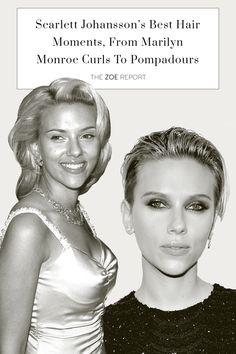 Beauty, hair, Scarlett Johansson