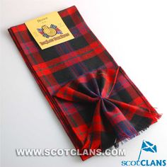 Clan Brown Tartan Mi