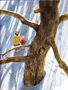 Owl Moon by Jane Yolen, illustrated by John Schoenherr