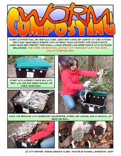 Worm Composting - How To