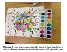Splish Splash Splatter: Kaleidoscope Art