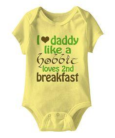 Banana '2nd Breakfast' Bodysuit - Infant | zulily